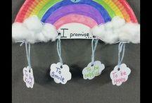 Ideas for Rainbows / by Nikki Knight