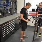 Bespoke Cycle Workshops / With revolutionary advancements in cycling and ever increasing demands from customers to meet the needs of their lifestyle it is important for cycle distributors to be state of the art and functional.