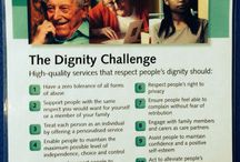 Dignity & Respect / How and why to promote dignity and respect when caring for an individual