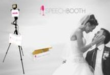 SpeechBooth / Your own video message recording kit in a box. Wedding-tech has arrived.