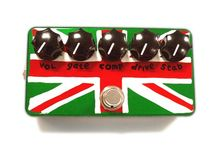 Handpainted Effects Pedal Enclosures / A display of talent and imagination for hand painted guitar effects pedals.