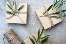 WARRPING IDEAS / רעיונות נהדרים לאריזת מתנות.