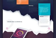 Web design / A curated board for website designs, home pages, landing pages, responsive website designs and plenty of inspiration for your web design projects