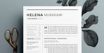 Resume if You Dare / Beautiful designs and tips how to write a resume that will stand out from the rest and get you the job you want and in front of those decision makers and hiring managers.
