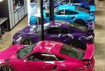 Colour Me A Fast Car / Performance and prestigious cars look like works of art in all colours