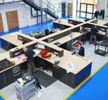 Commercial & Industrial work spaces