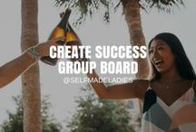 Create Success Group Board / Let's Create Success Together! No Spam Please, Only Tall, Beautiful Pins to Great Content.   Different success strategies, daily challenges and step by step guides for the practical use of the law of attraction.    / Law of Attraction / The Secret / Motivational Quotes / Positive Mindset / Business & Life Coaching / LOA / Success / Success Mindset / Personal-Development / Self-Development / Success Principles