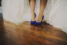 {Color Inspo} Blue Wedding / Blue, cerulean, navy, midnight - no matter what the shade, you can't go wrong with blue