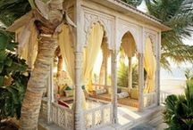 moroccan style outdoor gazbo
