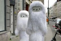 Yeti   Bigfoot   and other  Forest Monsters