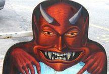 Krampus and Devils