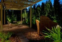 Landscape Lighting / Wonderful images, tips and suggestions for designing, installing and repairing landscape lighting. If you would like to be invited to this board, follow the board & leave a comment on one of my pins. Please No Spam....Thank you and Happy Pinning!. / by Tom K