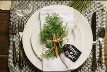 Winter Wedding / Ideas for Winter weddings, holiday parties, and more!