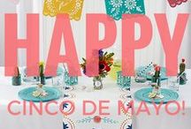 Fiesta Ideas / Decor for fiestas, weddings and more, from Cinco de Mayo to every colorful celebration! / by Kate Aspen