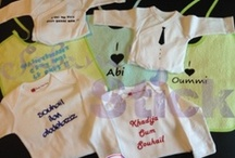 Baby clothes / Personalized baby clothes / Body personnalisable / Cadeau Bébé by SalamStick / Clothing for baby
