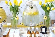 Sweet as can BEE / Bee Themed Baby Shower and Birthday Party Ideas / by Kate Aspen