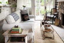 Home Inspiration  | LowCarbPlanner / Great Room and Color Combos for a beautiful and comfty living