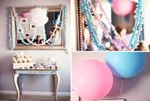 Gender Reveal Party / Gender Reveal party ideas and favors from Kate Aspen | gender reveal shower | gender reveal party #babyshower #genderreveal #heorshe