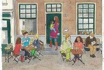 Illustrations of Zutphen / Illustraties van Zutphen