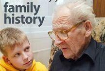 Family History + Genealogy / Family history, family tree, genealogy, ancestry, heritage