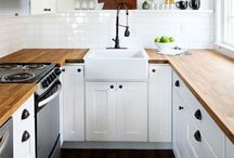 Kitchen Inspiration | LowCarbPlanner / Storage ideas, on a budget, kitchen styles #living #style #casual #home #plain #elegant
