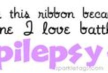 The Purple Ribbon / Epilepsy & all that it encompasses  / by Lisa May