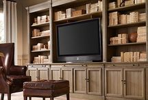 Entertainment Center Styling