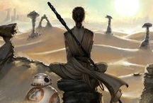 The Force Has Be Awoken / Star Wars themed art work and fan art