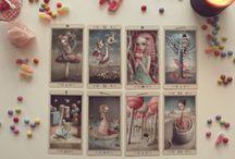 Tarot / A collection of beautiful tarot cards, tips, and alternative tarot spreads.