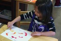 "Arts & Crafts / ""If it's not messy it's not fun"" - Ms. Michele, Art Teacher"