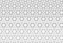 Geometric Patterns. / Design inspiration