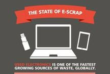 Recycling Infographics / Inforgraphics with interesting statistics on recycling.