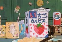 Anime Food / I always think food in anime looks amazing.