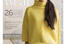 Knitting books and magazines - Livres et revues de tricot