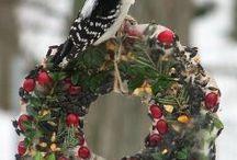 aves en navidad