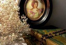 Interior decoration with antique / アンティークの小物を使ってインテリアを楽しむ