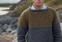 Knitting for men - Tricot pour hommes