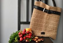 Knitting bags and baskets