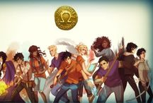percy jackson / percy and friends / by Mandy Mae