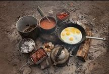 Camping Food and Recipes / Delicious recipes and camp food ideas for healthy and wholesome meals in the wild.