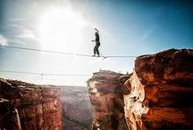 Climbing and Slacklining / Information and inspiration to help you find your own balance and reach for the skies