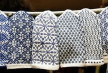 Knitting - Latvian mittens and others ethnic styles - Mitaines lettones et autres styles ethniques