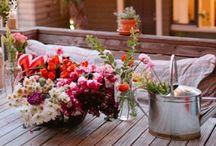 Tuin ideeën. / Inspiratie voor in de tuin!