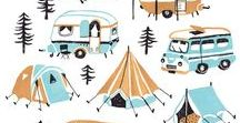 Cool Campervans / Drive time designs that will make you drool with envy.