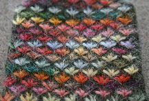 Crochet stitches - Points de crochet