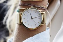Lady Watches / Women's watches, how to style your wrist, minimalist watches and unique watch bands.