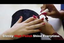 Hairspray Nails / We sell a huge selection of nail products in loads of colours & styles.