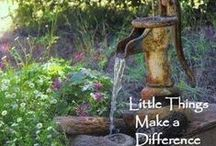 old fashion water pumps / by Joyce Weber