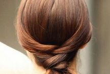 Random Hair Ideas / A selection of different hairstyles found online.