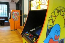 Great game rooms! / Arcade games for rent NYC: http://www.arcadespecialties.com/customer-examples/